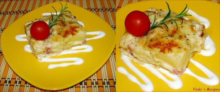 Cartofi gratinati 4