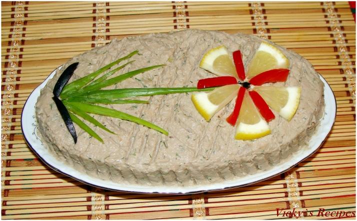 Pastă de pește delicioasă
