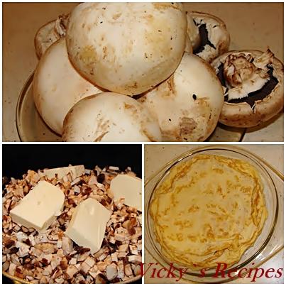 Rulouri de pui cu spanac si ciuperci 5
