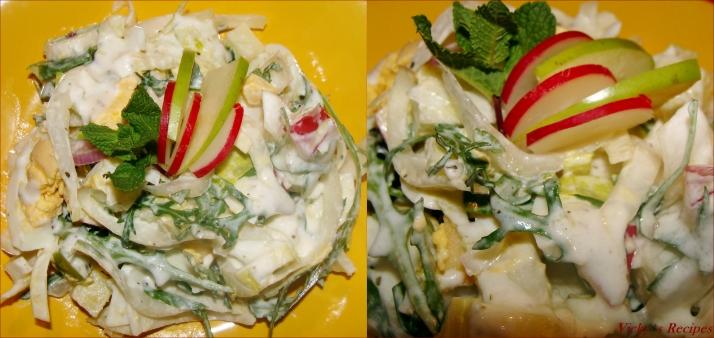 Salata de andive 6