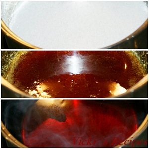 Prajitura de post cu foi din suc de rosii 8