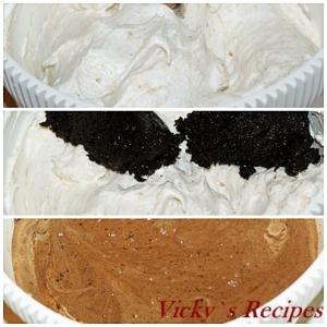 Tarta de ciocolata cu crema mascarpone si visine 6