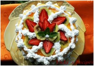 Sarlota/ Tort de portocale