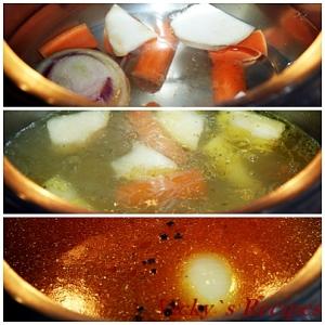 Supa de rosii cu galuste 4