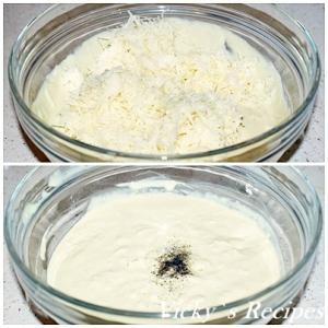 Sparanghel alb gratinat