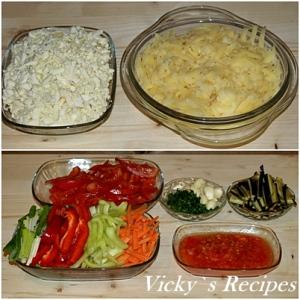 Rulouri de vinete cu legume 3