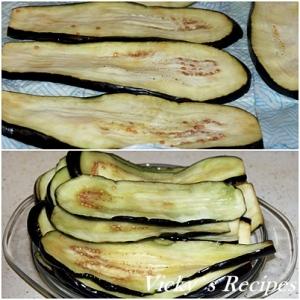 Rulouri de vinete cu legume 8