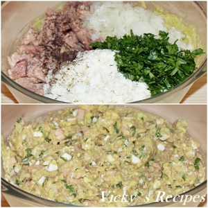 Salata de ton cu avocado 4