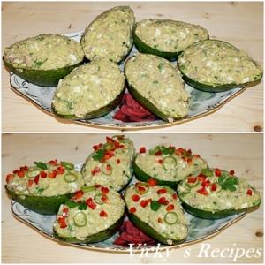 Salata de ton cu avocado 5