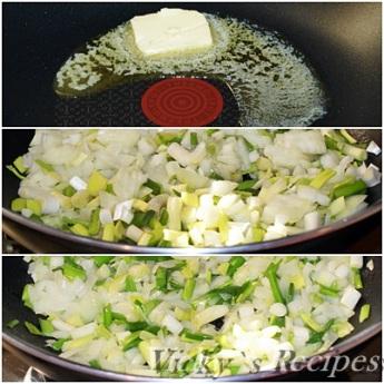 Budinca taraneasca cu legume si branza 2