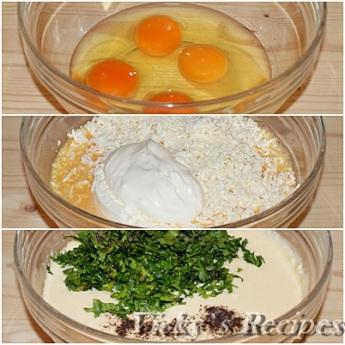 Budinca taraneasca cu legume si branza 5