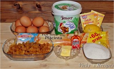 Plăcintă cu iaurt