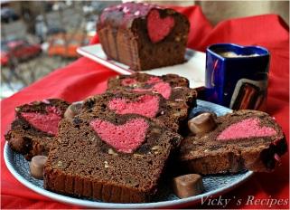 Chec cu ciocolată și dragoste