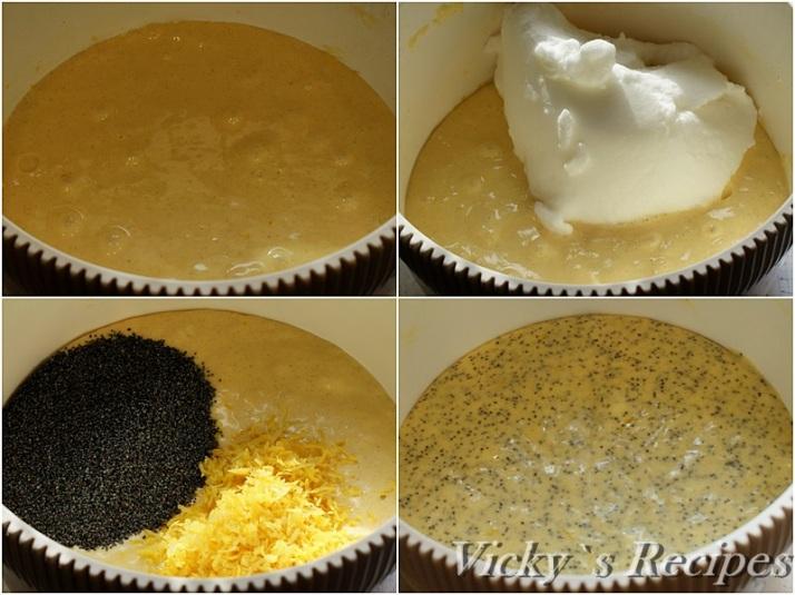 Prajitura cu mac, lamaie, crema mascarpone si capsuni3