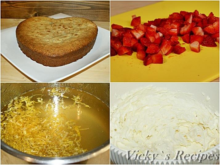 Prajitura cu mac, lamaie, crema mascarpone si capsuni5