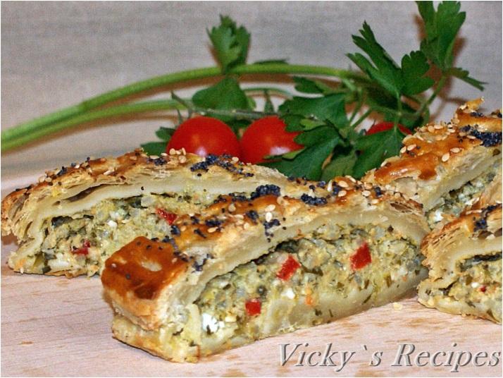 Plăcintă cu leurdă și brânză
