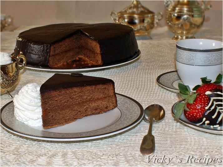 Tort Sacher (Sacher-Torte)