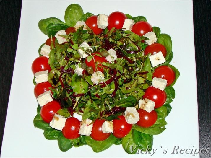 Salata de spanac cu sfecla rosie46
