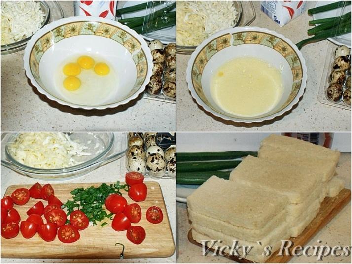 Cosulete din paine cu oua de prepelita2