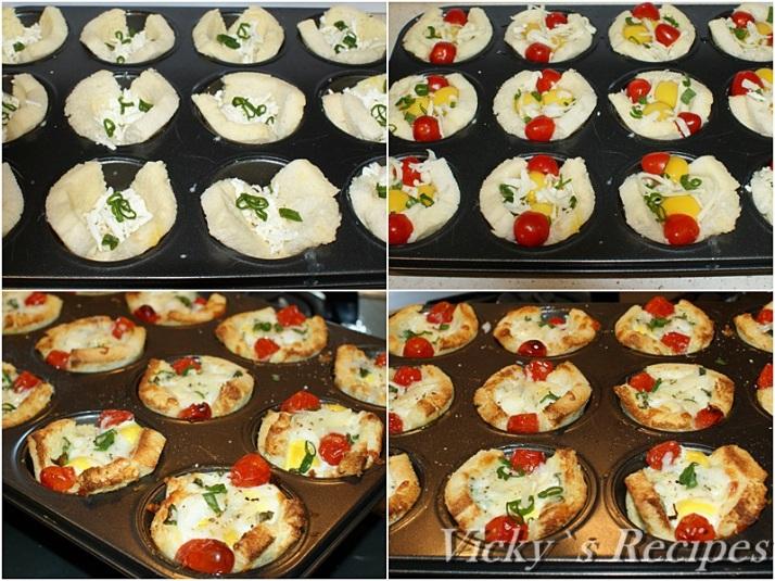 Cosulete din paine cu oua de prepelita3