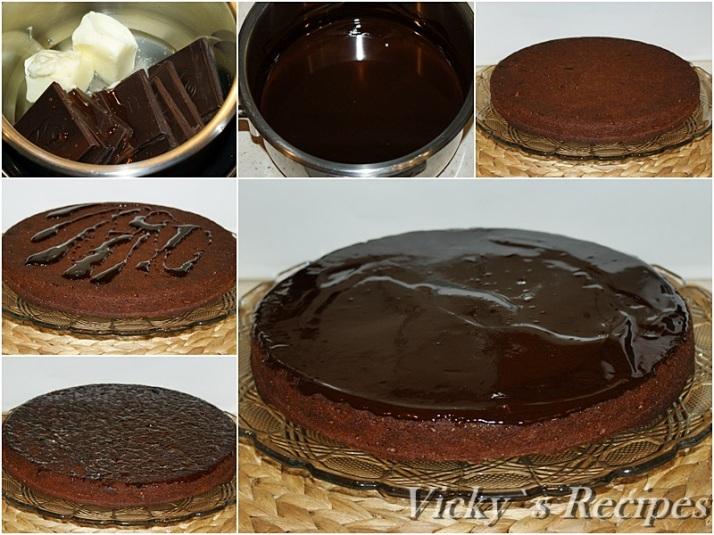 Prajitura cu ciocolata, merisoare si ghimbir5a