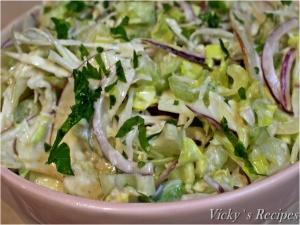 Salata de telina apio cu varza