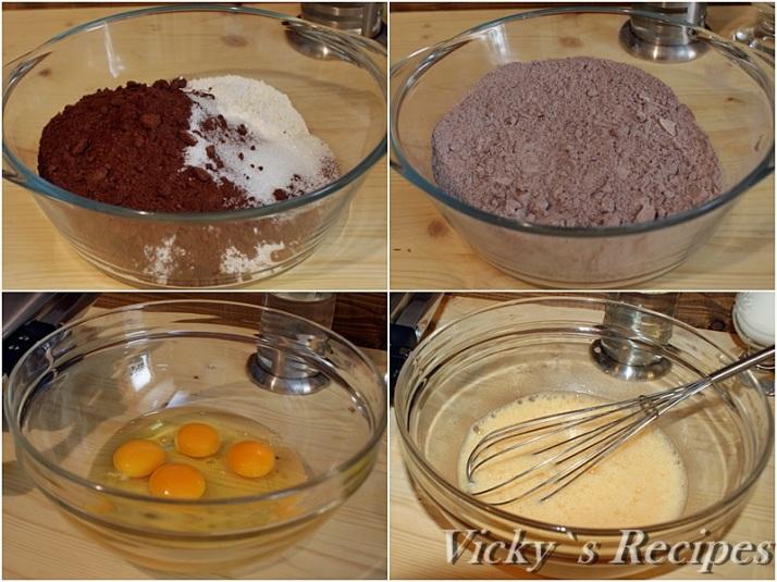 Clatite cu cacao si crema de afine2