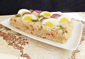 9.Merisor- Salata de cartofi cu ton