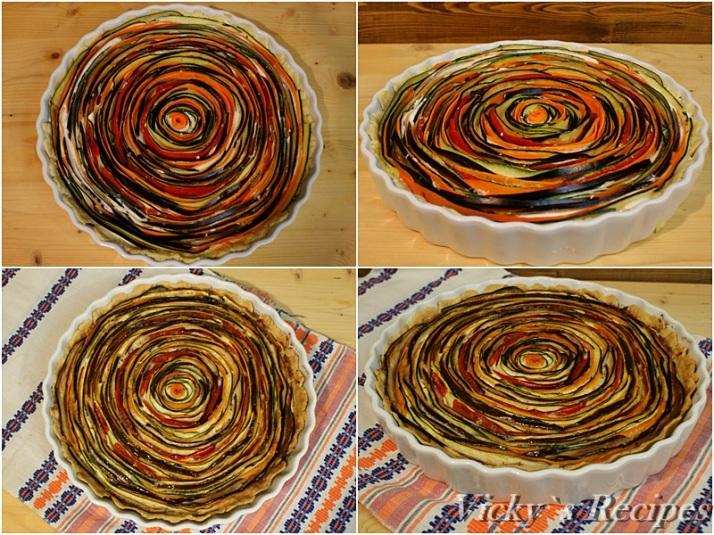 Tarta spiralata cu legume4