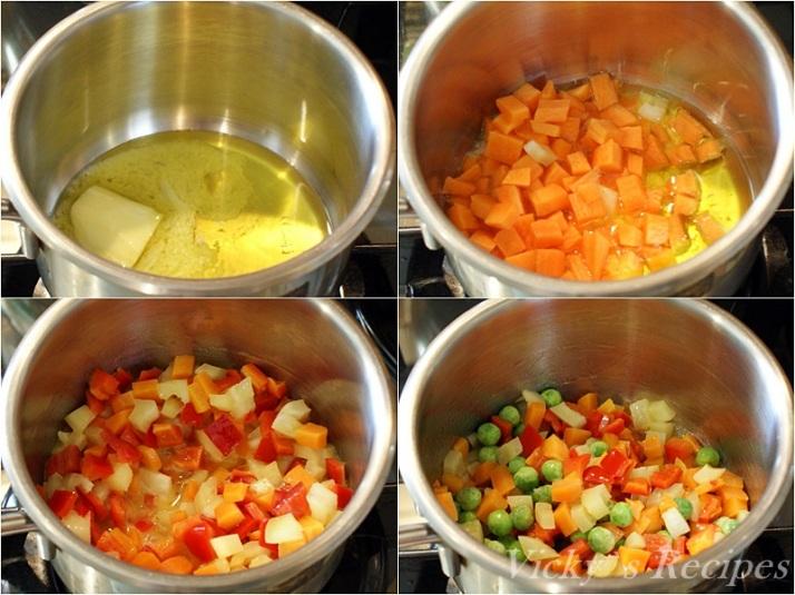 Rulada din muschi de porc cu omleta si legume 2