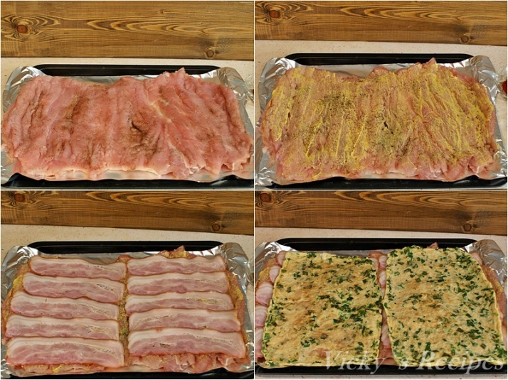 Rulada din muschi de porc cu omleta si legume 4
