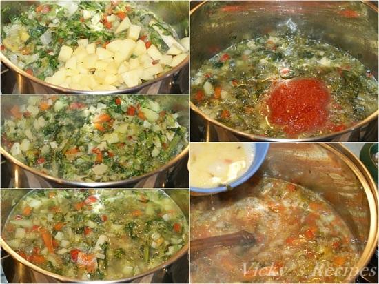 Ciorba de salata verde cu zeama de varza4