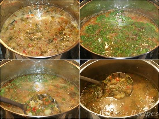 Ciorba de salata verde cu zeama de varza5