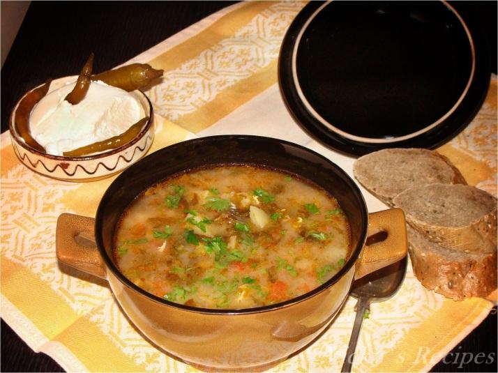 Ciorba de salata verde cu zeama de varza6