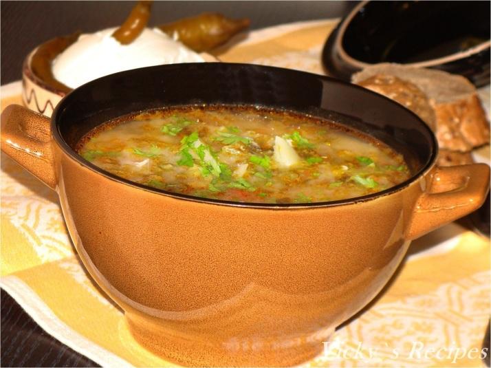 Ciorba de salata verde cu zeama de varza7