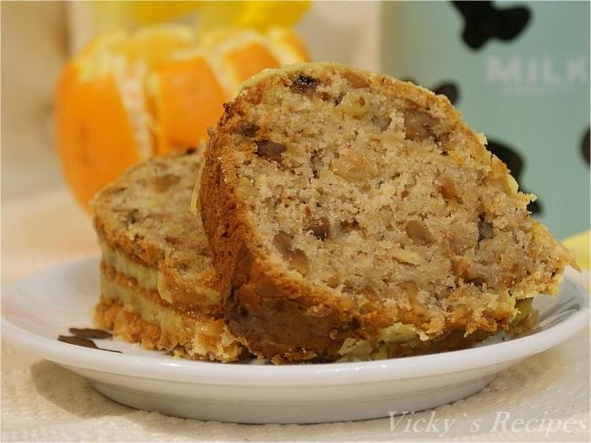 Prăjitură de post cu mere, nuci, stafide și aromă de portocală