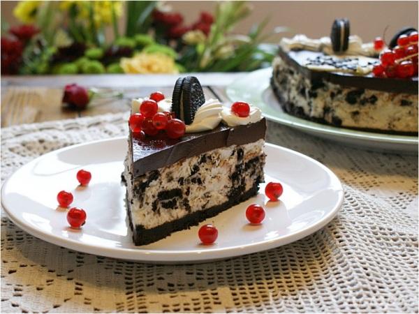 Cheesecake cu biscuiți Oreo