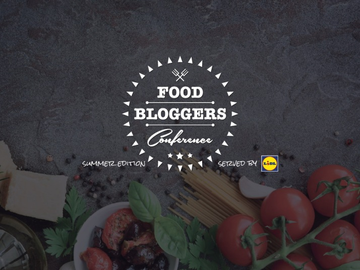 Food Bloggers Conference-summer edition 2016